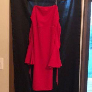 Red Festival dress